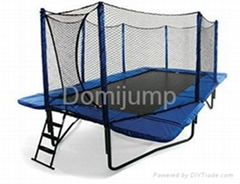 Never delay shipment even Chinese New Year 14ft Trampoline Domijump