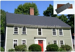 galvanized stone coated aluminum roofing tile
