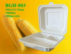 Biodegradable Cornstarch Tableware