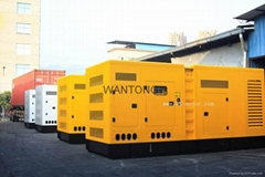 Silent type diesel generator set powered by Cummins
