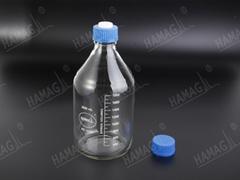 The mobile phase so  ent bottle