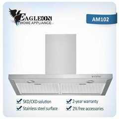 Factory direct supply new design range hood chimney