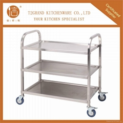 201 stainless steel dining cart