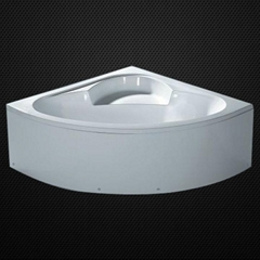 acrylic bathtub with panel and support