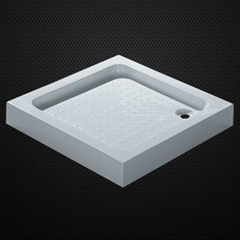 acrylic shower tray with support