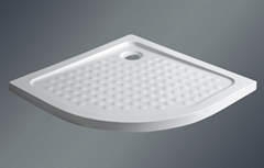 Thin thickness acrylic shower tray ,well-saled in Europe
