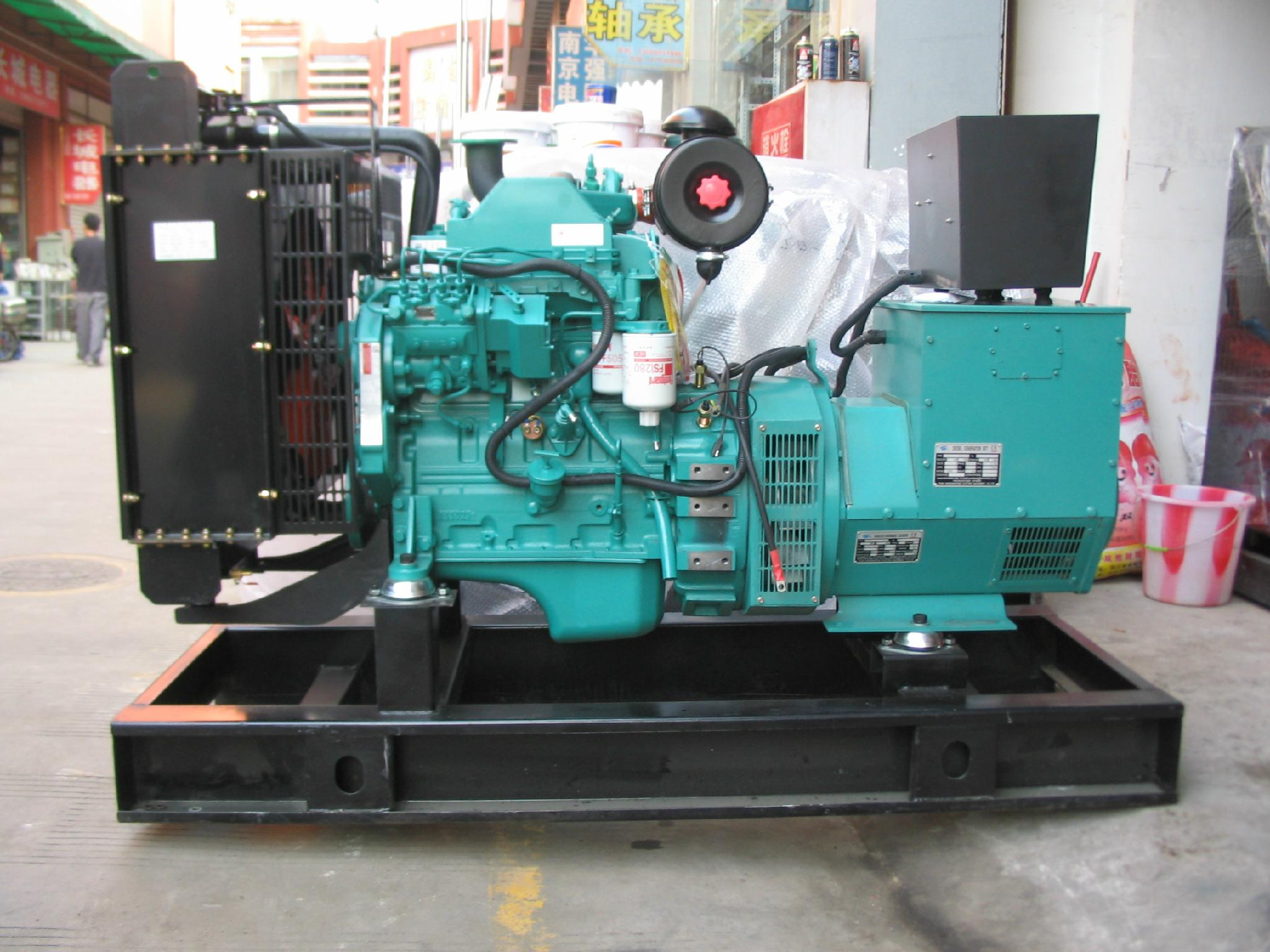 Cummins generator  50kw  diesel generator  three phase  hot sell 2