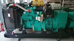 Oem  100kw  diesel generator set three phase with Cummins engine