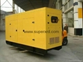 30kw Soundproof  diesel generator  used