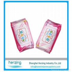 Private Label moisturizing aloe cleaning baby wipes distributors