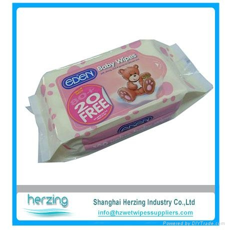 spunlace China supplier wholesale baby wipes 2