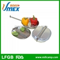 Si  er military stainless steel lunch