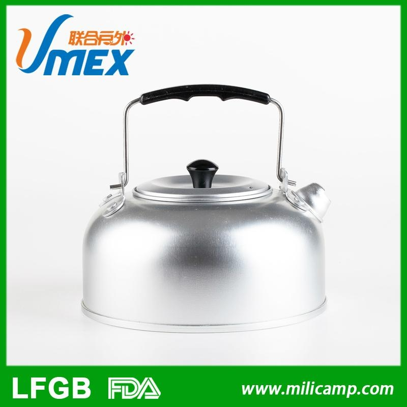 Hot sale high quality portable non-electric outdoor camping 1.0L Aluminum water  4
