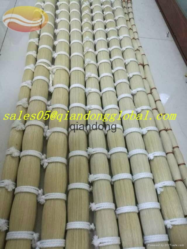 Pure Stiff and Flexible Horse Tail Hair for Strings of Musical Instruments 1