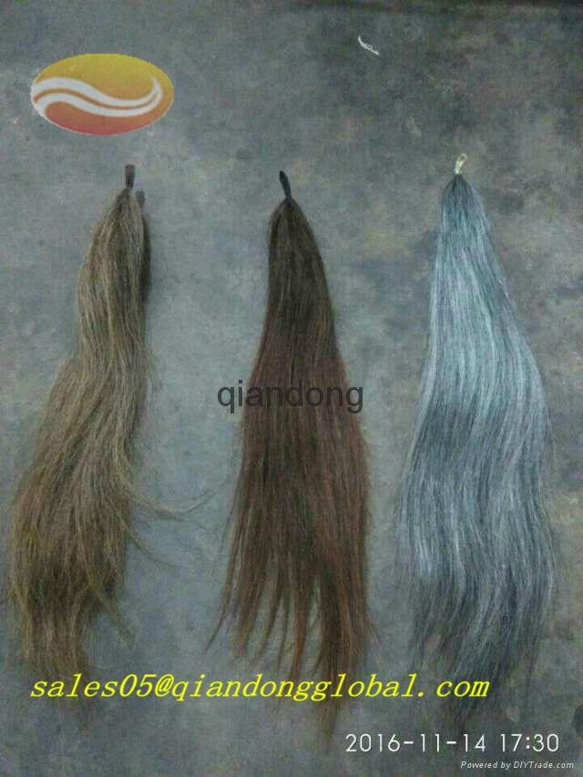fashion colorful horse hair tassel 2