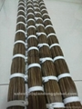 100% real factory bundled horse tail hair for lining cloth 2