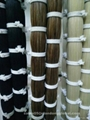 100% real factory bundled horse tail hair for lining cloth 5