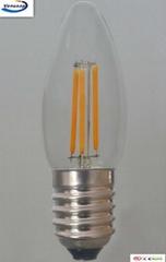 candle lighting C35 1W 2W 4W led filament bulb
