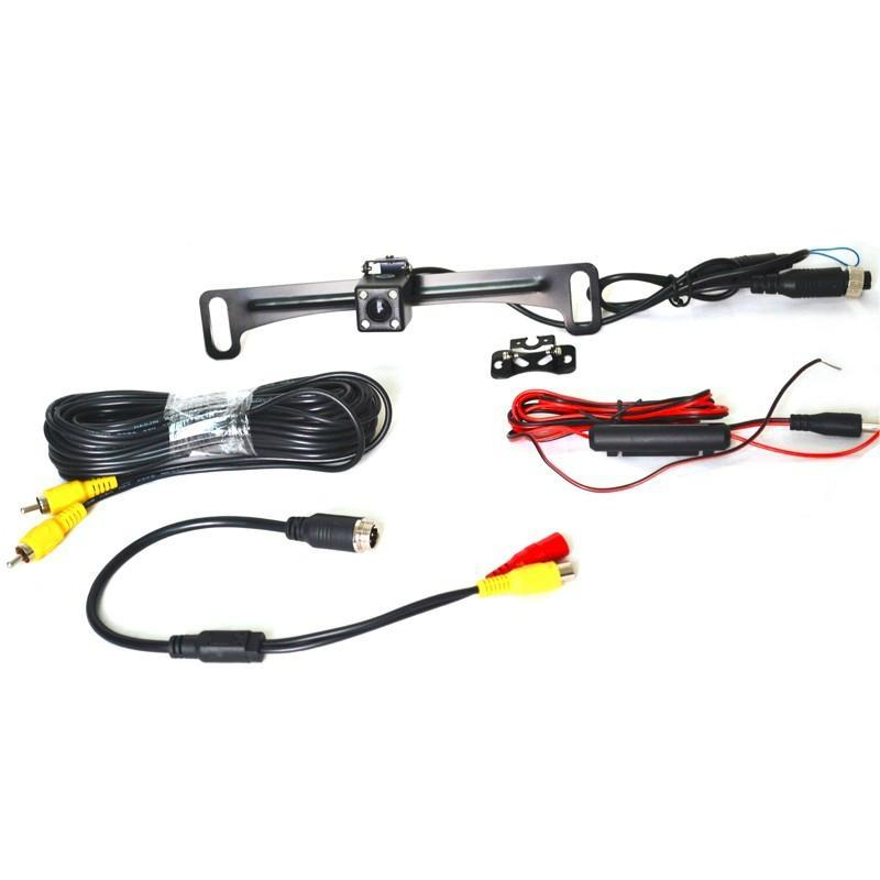 Vardsafe License Plate Camera RearView Camera for Van Car Pickup truck SUV Wagon 2