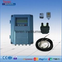 RS485 ultrasonic flow rate meter heat meter energy flowmeter