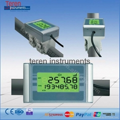 Ultrasonic flow meter clamp-on flowmeter