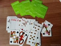 custom paper poker card for promotions