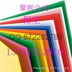 Guangzhou  plastic hollow board anti-static hollow board hollow plate price