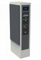 Smart parking entrance controller barcode ticket dispenser vending machine