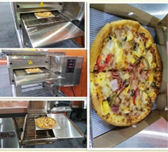 Upgrade electric conveyor pizza oven on