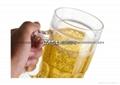 2015创意啤酒杯小号水杯 双层塑料制冷杯 冰镇果汁饮料杯定制广告 2