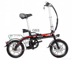 small  folding electric bike