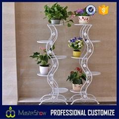New design artificial metal flower display racks