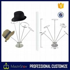 Hat - Cap Display Retail Hat Cap Rack Metal display Stands