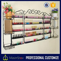 hot sell wholesale metal nail polish display floor stand