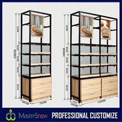 New design high end bakery display stand rack