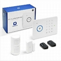 APP remote control home security intruder Alarm RFID wireless GSM alarm system 1