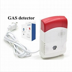 Functional home security high sensitivity independent gas leak detector