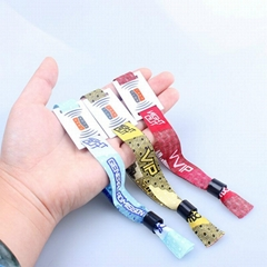 Promotional gifts wholesale customized rfid polyester wristband