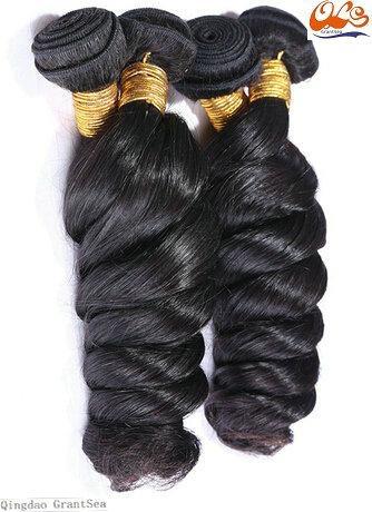 New GrantSea Hot sale Grade 6A 100% Peruvian Human Hair Wigs Hair Weft Extension 2
