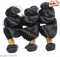 New GrantSea Hot sale Grade 6A 100% Peruvian Human Hair Wigs Hair Weft Extension 4