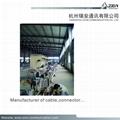 manufacture RG59/U CCA coaxial cable for CCTV Dahua camera & CVI  10