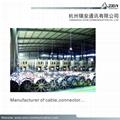 manufacture RG59/U CCA coaxial cable for CCTV Dahua camera & CVI  12