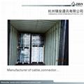 95% CCS Braid rg59 coaxial cable factory for CCTV HIKVISION camera & CVI 9