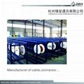 95% CCS Braid rg59 coaxial cable factory for CCTV HIKVISION camera & CVI 17