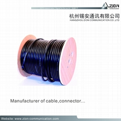 Factory quality rg59 cable manufacturer CCTV Coaxial Cable 0.8 BC Solid PE 95%