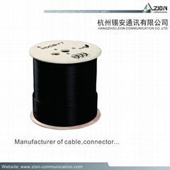 Nice Rg59 cctv Camera Cable RG59U B.ALF95% CCA + 2C-18AWG CCA CLASS 5 Siamese CM