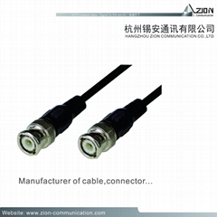 Professional 3C-2V 05BC FPE 95% CCA 5.0PVC CCTV COAXIAL CABLE for DVR CVI Camera