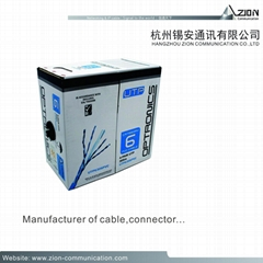 UV-PE Jacket Shielded Network Cable with electric wire for Network & IP Cables