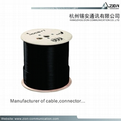 PK-75-2-111 0.37mm CCTV COAXIAL CABLE For Use in Intermediate CCTV Run Lengths