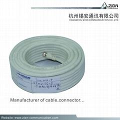 75Ω PK-75-2-310 CCTV CAMERA COAXIAL CABLE 0.48 BC SPE 45% CCA | BC 3.3 PVC | PE